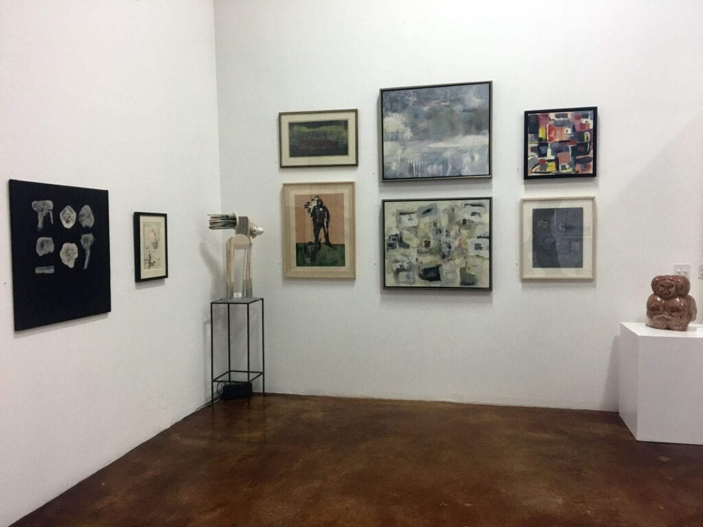 203 Fine Art gallery interior